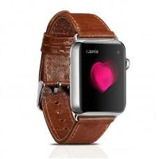 Ремешок Icarer для Apple Watch Classic Genuine Leather Series Watchband-38mm