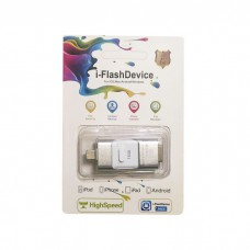 Smare USB Flash Disk OTG USB+Lightning+Micro 16GB