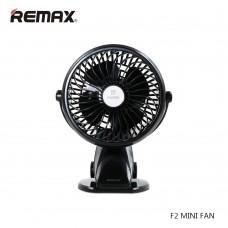 Портативный мини вентилятор Remax на прищепке F2