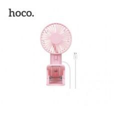 Вентилятор Hoco F9 double leaf desktop clip fan