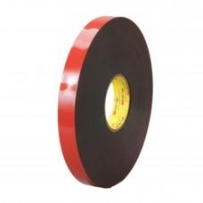 Скотч двухсторонний SALMAN 20 мм * 5 м, красный