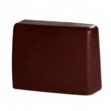 Заглушка для навеса кухонного Strong коричневая, левая GTV (Польша)