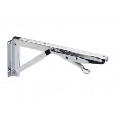 Механизм откидной для стола-книжки 269 мм,  хром (к-кт)