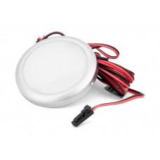 Подсветка LED GIFF Lira 1,5W белый холодный свет, металлик (БП SPS)