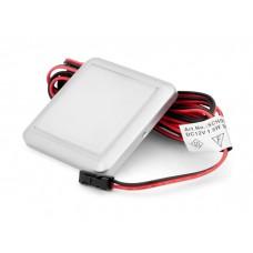 Подсветка LED GIFF Orion 1,5W белый теплый свет, металлик (БП SPS)