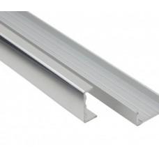 Профиль C 16 мм фасадный L=3000 мм, алюминиевый