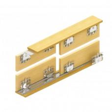 Раздвижная система для шкафов купе: Lucido LC 75 AY UK K верхняя направляющая 1 шт., 3 м