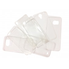 Ультратонкий силиконовый чехол 0,3 мм для LG G3 mini