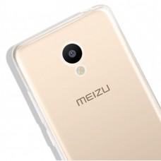 Ультратонкий силиконовый чехол 0,3 мм для Meizu MX5 Pro
