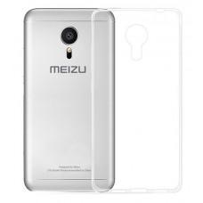 Ультратонкий силиконовый чехол 0,3 мм для Meizu M1 Metal M57A