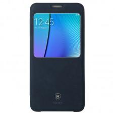 Кожаный чехол Baseus для Samsung Galaxy Note 5