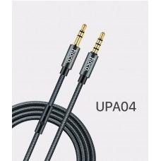 Кабель Hoco UPA04 Noble sound series AUX audio (with mic)