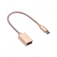 Переходник Hoco UA3 Type-C USB Patch Cord