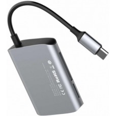 BASEUS Enjoyment series Type-C to SD+TF Card+USB2.0 HUB Adapter