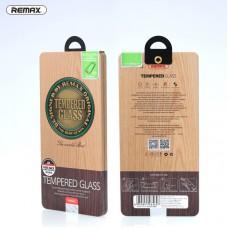 Защитное стекло + пленка REMAX для iPhone 6/6S Plus в металлической упаковке