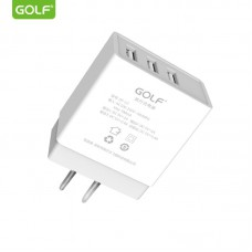 СЗУ GOLF GF-U3 (3USB, 3.4A) (EU)