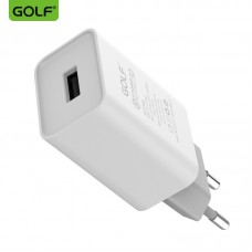 СЗУ GOLF GF-U206Q Quick Charge 3.0 (EU) (1USB, 2.4А)