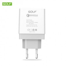 СЗУ GOLF GF-UQ1 qualcomm QC 3,0 (1USB, 5A)