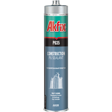 Полиуретановый строительный герметик Akfix P635 белый 310 мл