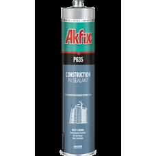 Полиуретановый строительный герметик Akfix P635 коричневый 310 мл