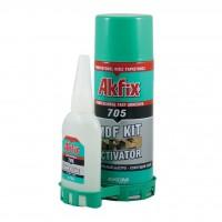 Клей с активатором для экспресс склеивания Akfix 705 100мл/25г