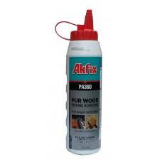 Водостойкий полиуретановый клей для дерева Akfix PA360 560 г