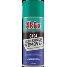 Очиститель наклеек Akfix C104